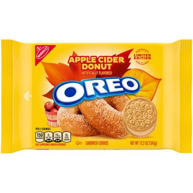 OREO Apple Cider Donut Sandwich Cookies, Limited Edition
