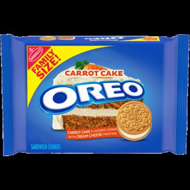 OREO Carrot Cake Sandwich Cookies