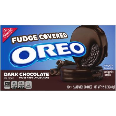 OREO Dark Chocolate Fudge and Flavor Creme