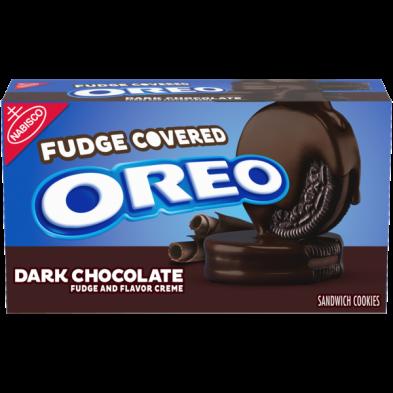 OREO Dark Chocolate Fudge and Flavor Creme