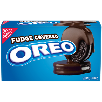 OREO Fudge Covered Chocolate Sandwich Cookies