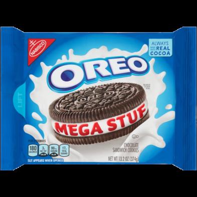 OREO Mega Stuf Chocolate Sandwich Cookies