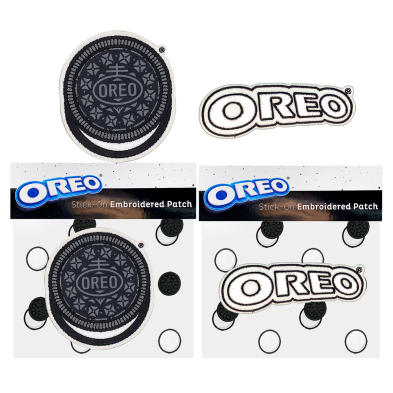 OREO Cookie and Logo Adhesive Patches (set of 2)