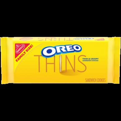OREO Thins Golden Sandwich Cookies