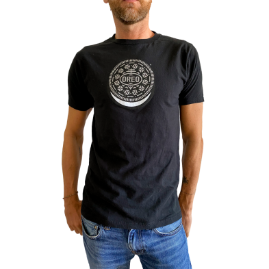OREO COOKIE Black Tee