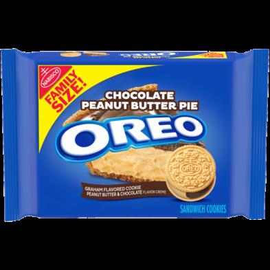 OREO Chocolate Peanut Butter Pie Sandwich Cookies