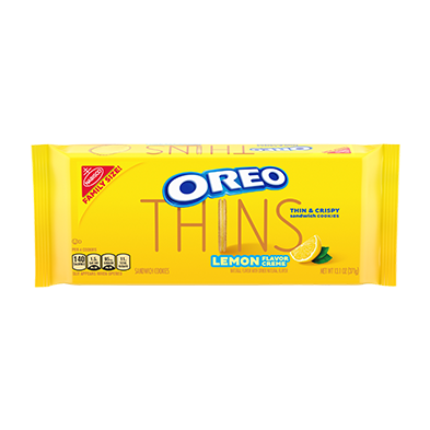 OREO Thins Golden Sandwich Cookies lemon creme