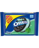 OREO Mint Flavored Creme Chocolate Sandwich Cookies