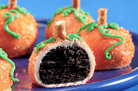 OREO Pumpkin Spice Cookie Balls