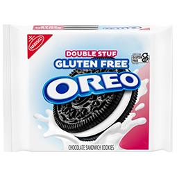 OREO Double Stuf Gluten Free Chocolate Sandwich Cookies