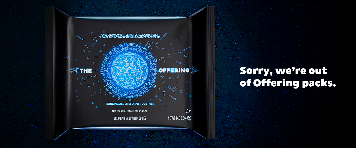 The OREO Offering Giveaway