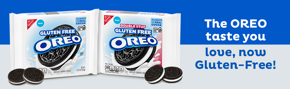 The OREO Taste you love, now Gluten-Free