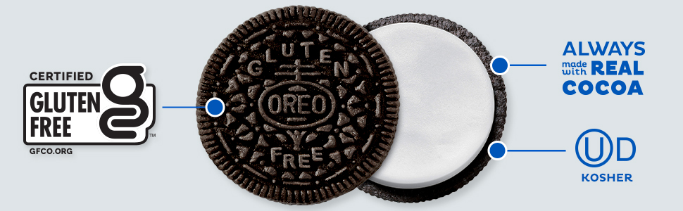Always made with real cocoa, now Gluten Free
