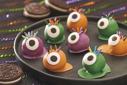 OREO Eyeball Cookie Balls